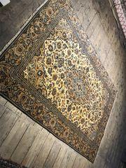 18010 handgeknüpfter Perserteppich aus Kashan
