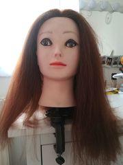 Puppenkopf für Friseure zum lernen