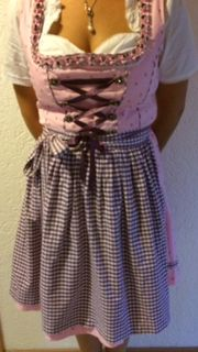 Dirndl Country Life Rosa Lila