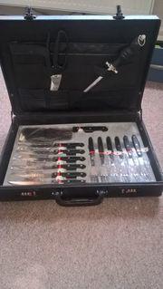 Solingen 23-teiliges Messer-Set mit Messerkoffer Neumann