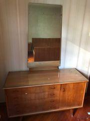 Komplettes retro Schlafzimmer