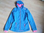 Softschell Jacke blau 170 176