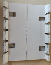 Einsatz für Kartonage Rohrhalterung Stabhalter