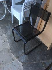 Metallstühle zu verkaufen