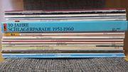 36 Schlager Schallplatten LP s