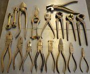 Werkzeugzangen Sonstiges Werkzeug Konvolut