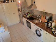 Küche m Ofen Spülmaschine Schrankwand