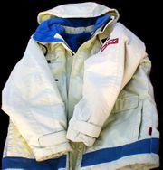 Marken-Ski-Jacke XS EXES N-TEC hellgrün