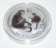 Lunar II Affe Silber 2