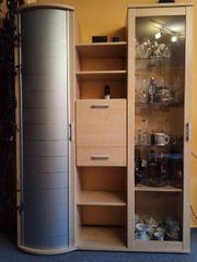 Schöne kleine Wohnwand Wohnzimmer-Schrank