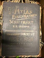 Atlas der Eisenbahnen Schiffahrt - Europa -