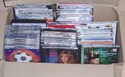 Karton mit Musik CDs