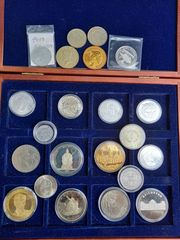 Münz Sammlung Aufgabe