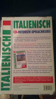 Italienisch Intensiv Sprachkurs CD NEU