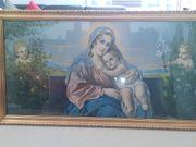 Heilige Maria mit Engel