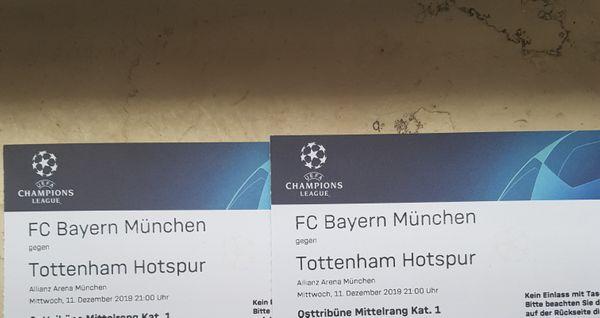 FC Bayern - Tottenham Karten Kat