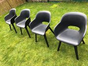 Sehr gut erhaltene Allibert Gartenstühle