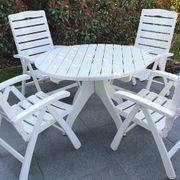 Hochwertige flexible Sitzgarnitur für Terrasse