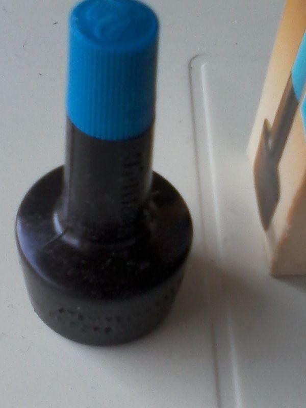 Pelikan - Stempelfarbe - blau - 4 K