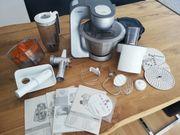 Bosch Küchenmaschine Mum5 silbergrau
