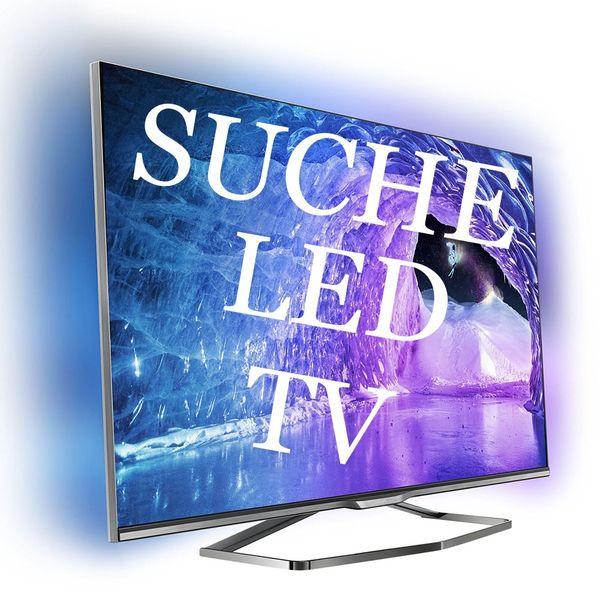 SUCHE ein LED UHD TV -