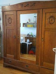 Kleiderschrank antik Eiche 3 Türen