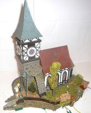 Diorama H0 Kirche mit Hochzeit