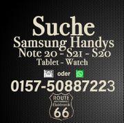 Suche Samsung Handys -Tablets S21 -S20