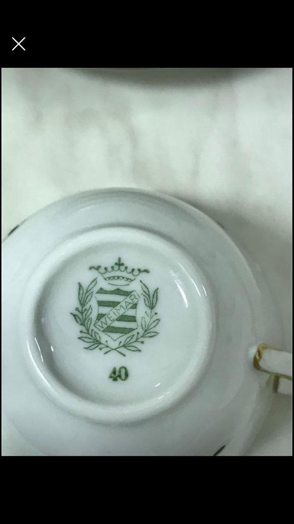 Ururaltes Mokka/Kaffee Service ca 1930/40