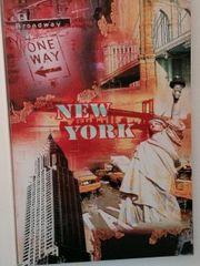 Bild 118x75 Wandbild New York