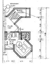 Einzimmerappartment in Top-Wohnnlage teilmöbliert