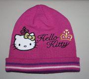 Hello Kitty Mädchen Mütze Beanie