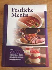 Kochbuch Festliche Menüs ISBN 978-3-8174-9365-4