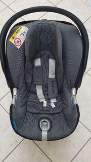 Cybex Babyschale Aton Q inkl