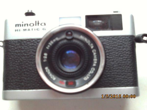Fotoapp. Minolta HI - MATIC G