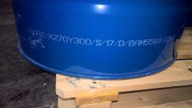 Sonstiger Gewerbebedarf - Gebrauchte 200 Liter Spannringfässer bei