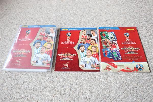 Verkaufe 304 Panini Sammelkarten Fußball