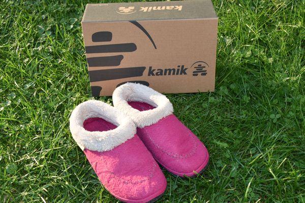 on sale 66539 1ae5f Kamik Hausschuhe Mädchen Gr. 35 / 36 rosa pink mit Fell in ...