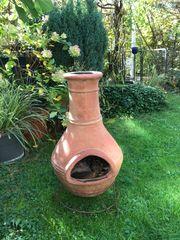 Terracotta-Ofen Aztekenofen