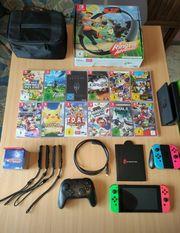 Nintendo switch konsole inkl Zubehör