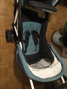 Kinderwagen - Doppelkinderwagen mit Babyliegefunktion