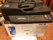 Samsung Farblaser-Drucker-Scanner-Fax Kombi