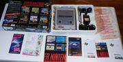 Super Nintendo SNES mit Spiele