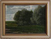 Antik-Gemälde ROBERT HEINRICH 1864 Berlin