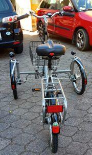 Seniorendreirad ohne E-Motor