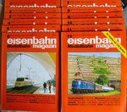 Eisenbahn Magazin Modellbahn Januar-Dezember 1992