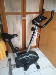 Heimtrainer Family Magnetic-Bike mit Pulsmessung