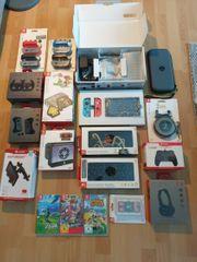 Nintendo Switch Konsole Mega-Set Spiele -