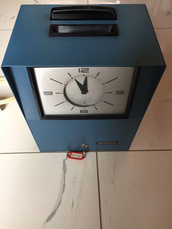 Stempeluhr Benzing Una 2300-2600 sehr