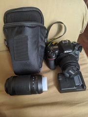 Nikon D7500 mit Zubehör und